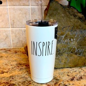 🆕💕RAE DUNN Insulated Stainless Steel Glass.17 oz